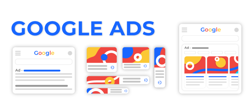 google ads different types of ads