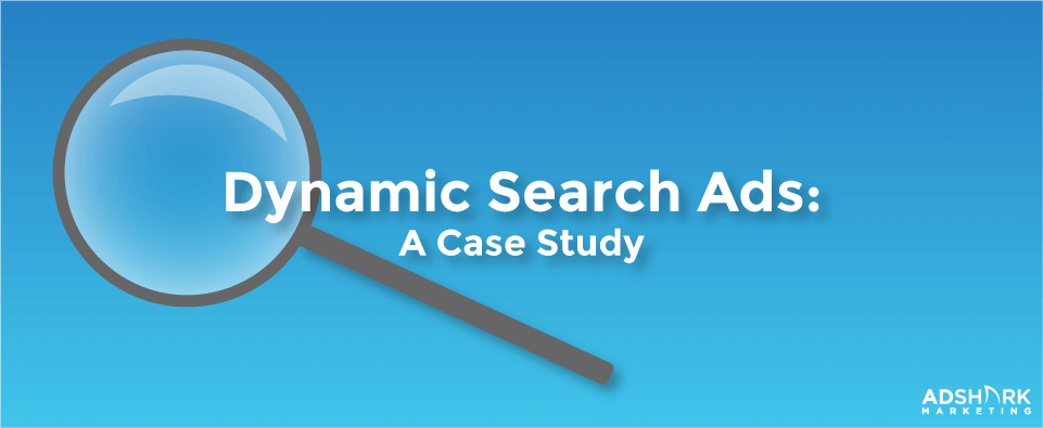Dynamic Search Ads A Case Study