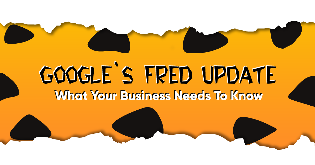 Google Fred Update Guide