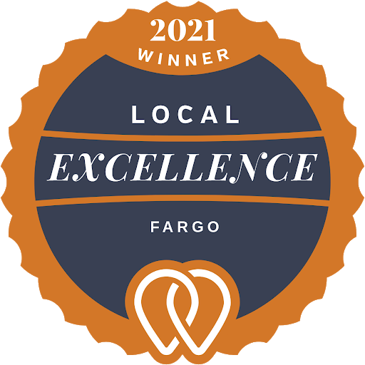 upcity local excellence badge for fargo digital advertising agency